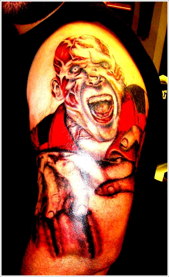 Zombie tattoo designs (20)