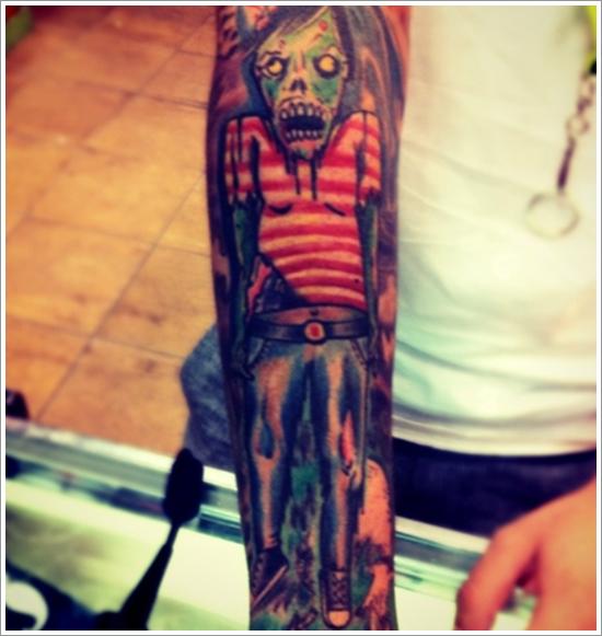 Zombie tattoo designs (23)