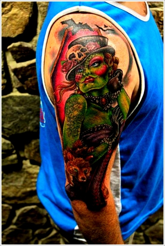 Zombie tattoo designs (28)
