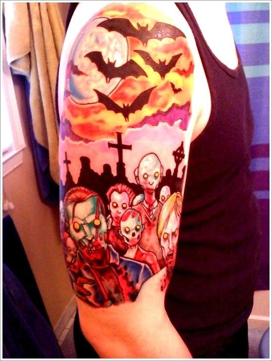 zombie tattoo designs (4)
