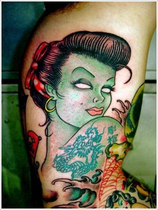 Zombie tattoo designs (8)