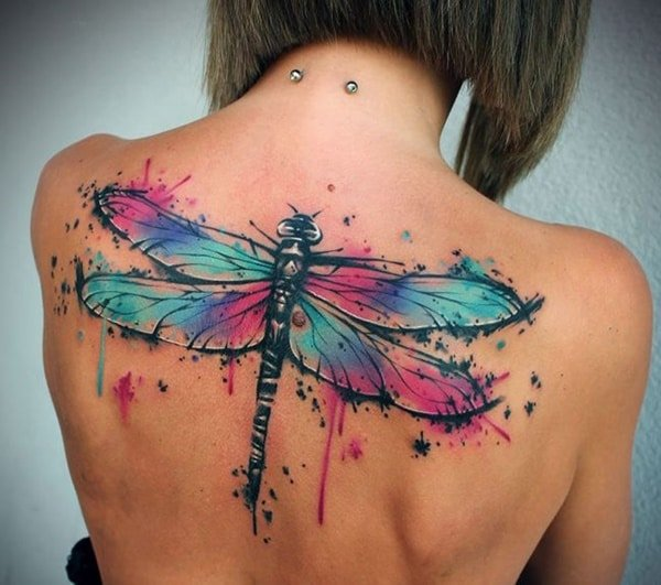 35 Cute And Sexy Dragonfly Tattoo Designs