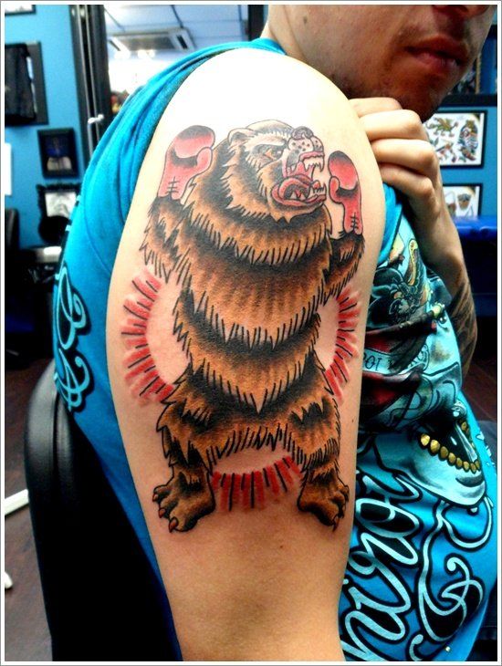 Bear Tattoo Design (13)