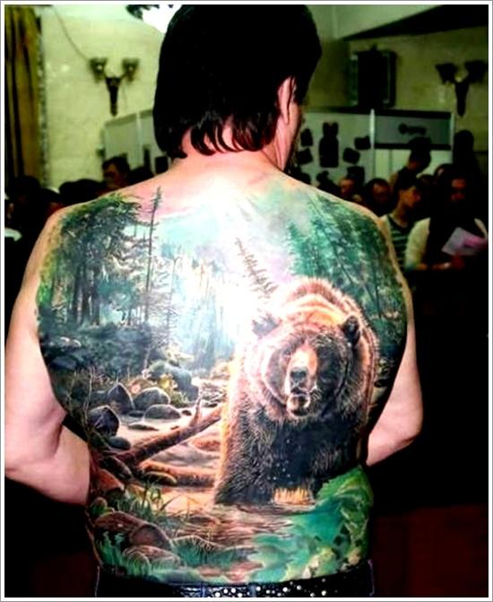 Bear Tattoo Design (14)