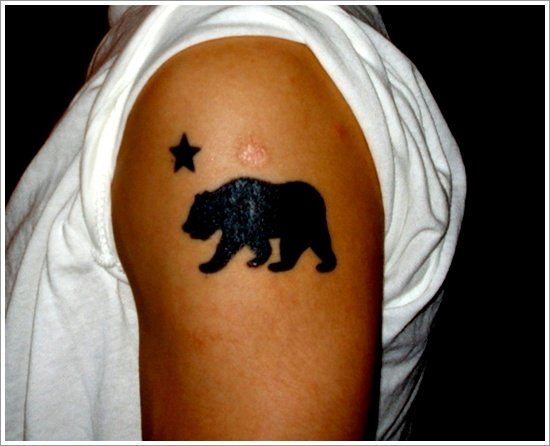 Bear Tattoo Design (15)