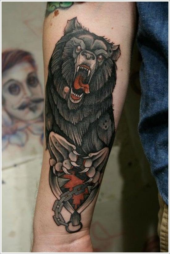 Bear Tattoo Design (17)