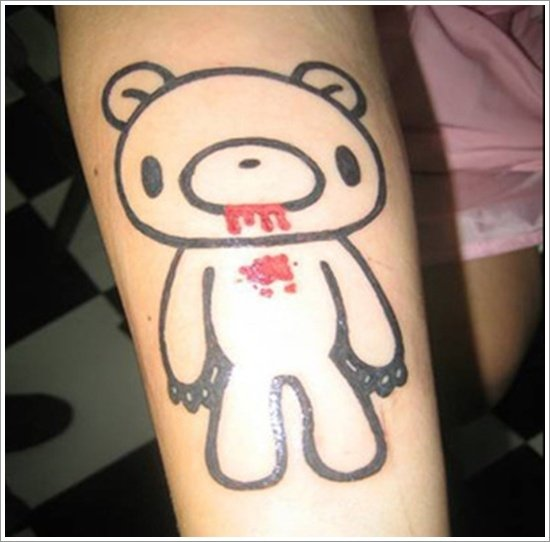 Bear Tattoo Design (18)