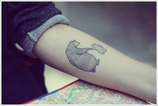 Bear Tattoo Design (21)