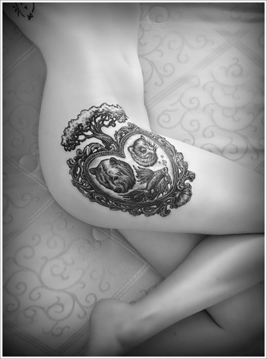 Bear Tattoo Design (22)