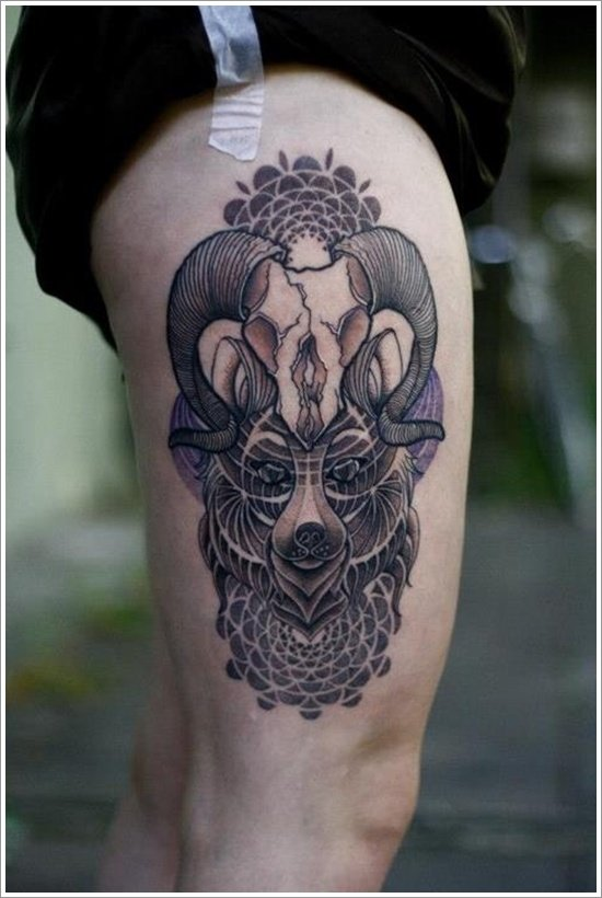 Bear Tattoo Design (24)