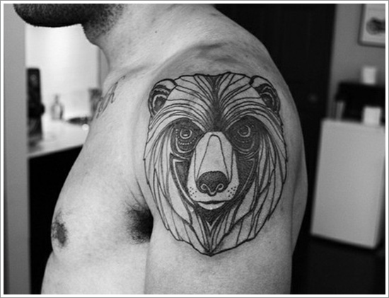 Bear Tattoo Design (28)