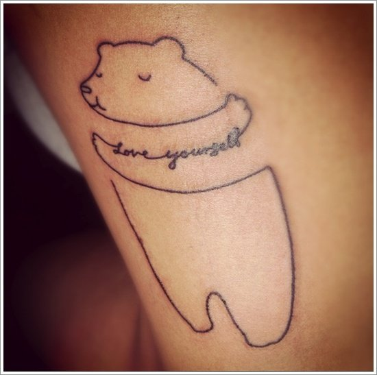 Bear Tattoo Design (30)