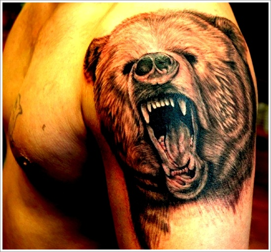 Bear Tattoo Design (32)