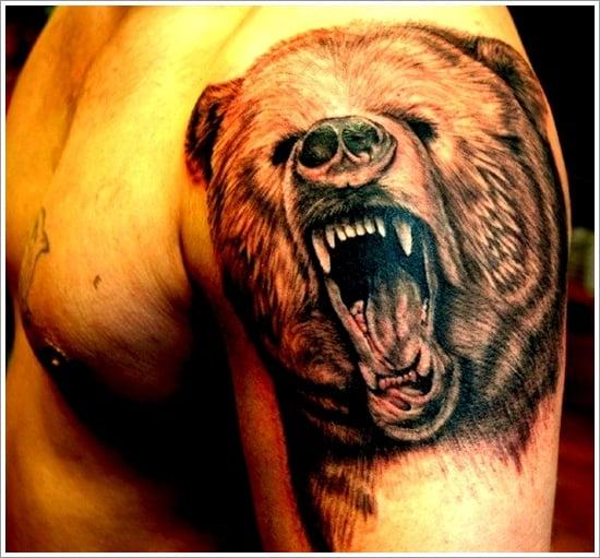 Bear Tattoo Design (32)