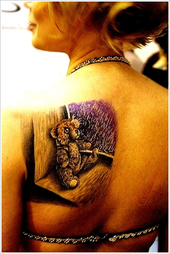 Bear Tattoo Design (5)