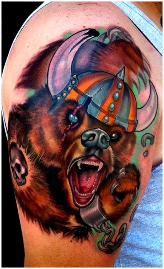 Bear Tattoo Design (6)