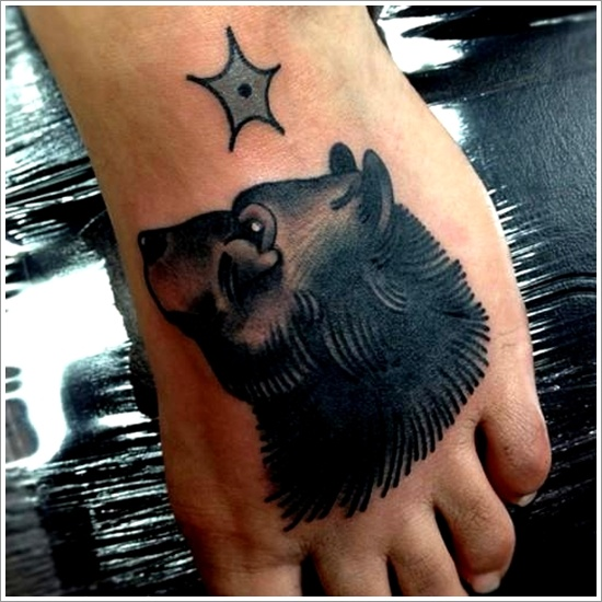 Bear Tattoo Design (7)