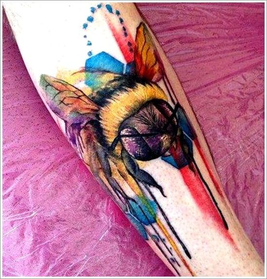 Bee Tattoo Designs (10)
