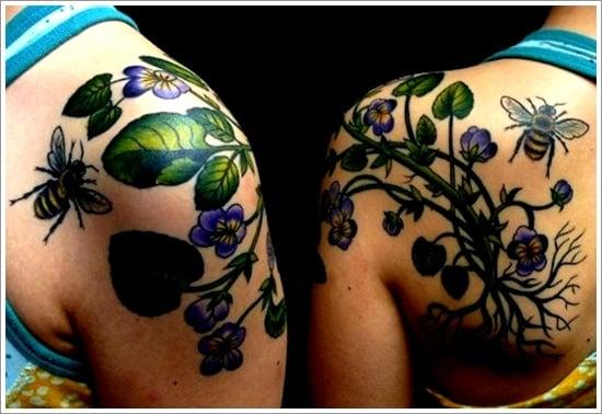 Bee Tattoo Designs (13)
