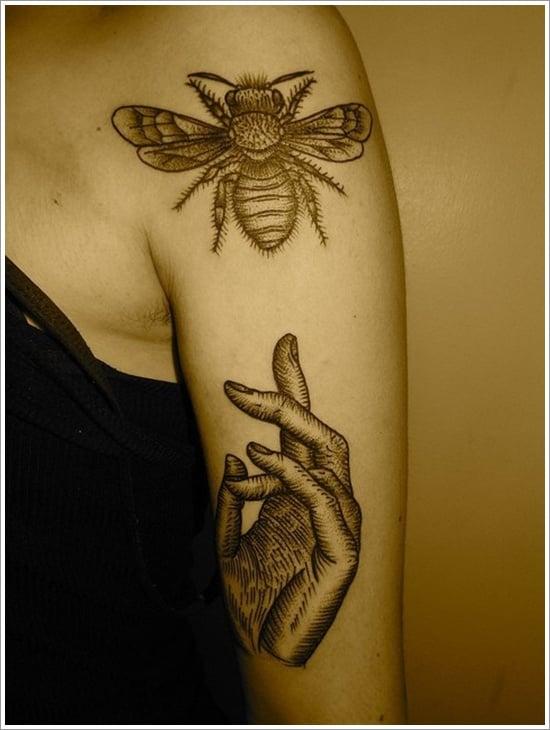 Bee Tattoo Designs (15)