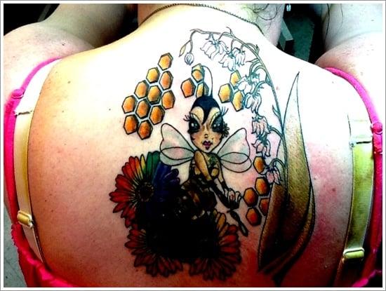 Bee Tattoo Designs (2)