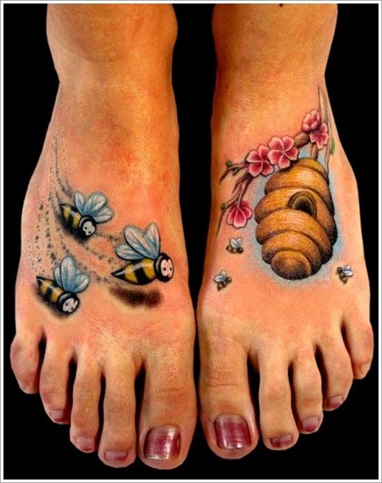 Bee Tattoo Designs (20)