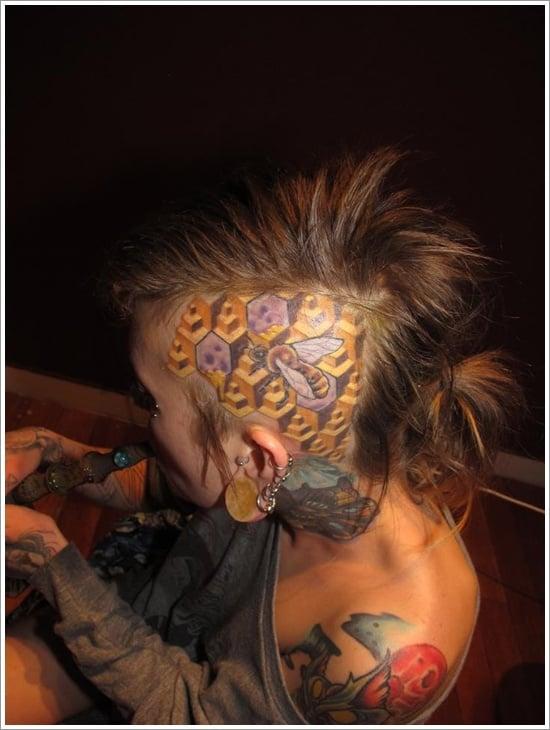 Bee Tattoo Designs (23)