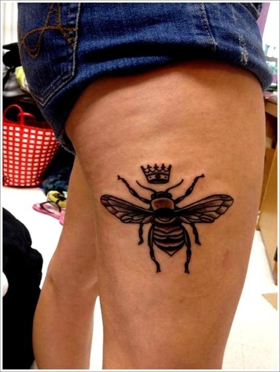 Bee Tattoo Designs (24)