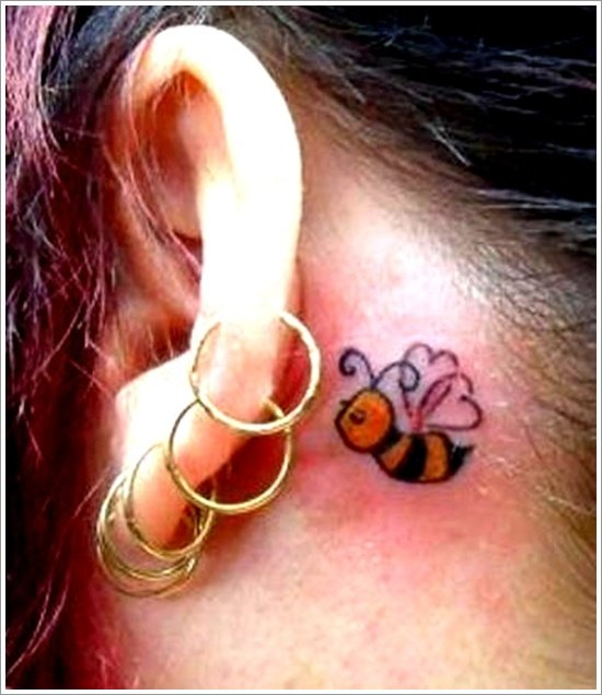Bee Tattoo Designs (26)