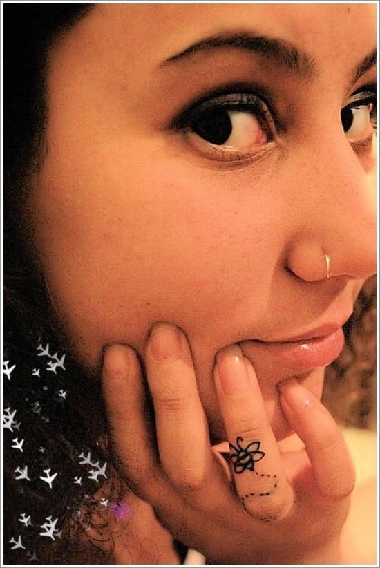 Bee Tattoo Designs (8)