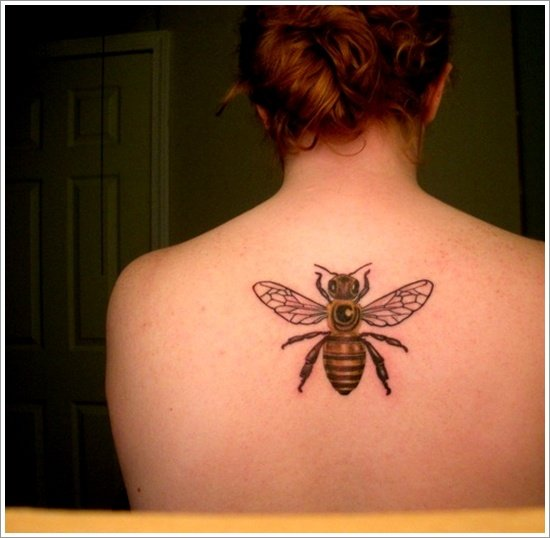 Bee Tattoo Designs (9)