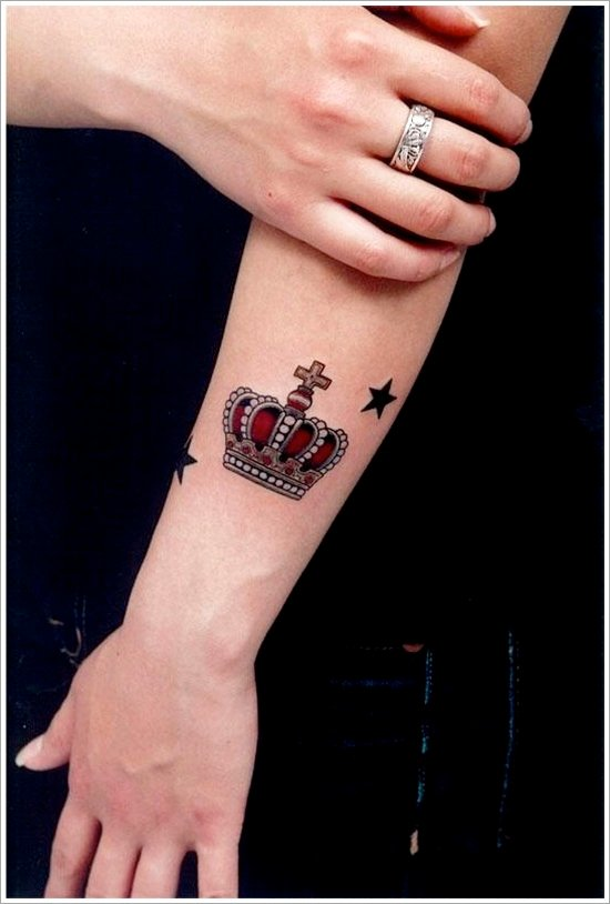 Crown Tattoo Designs (10)