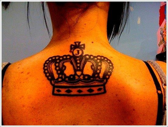 Crown Tattoo Designs (18)