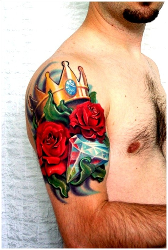Crown Tattoo Designs (19)