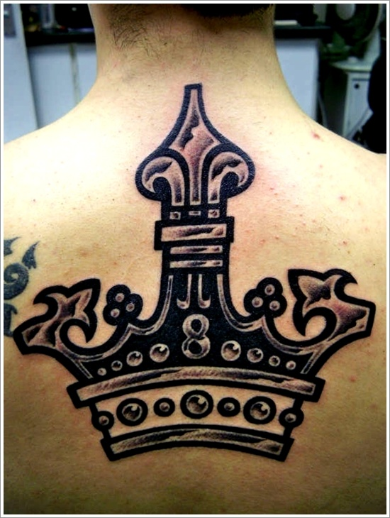 Crown Tattoo Designs (24)
