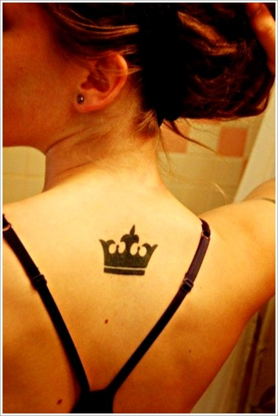 Crown Tattoo Designs (29)