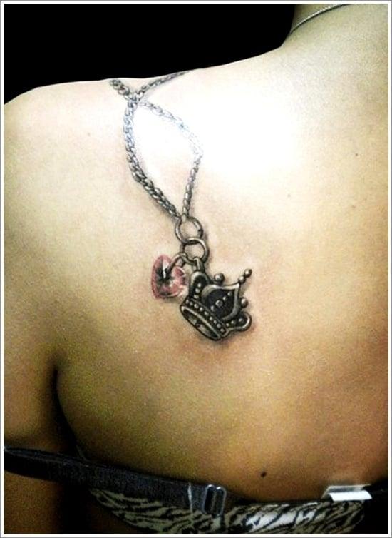 Crown Tattoo Designs (30)