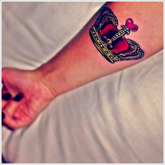 Crown Tattoo Designs (33)