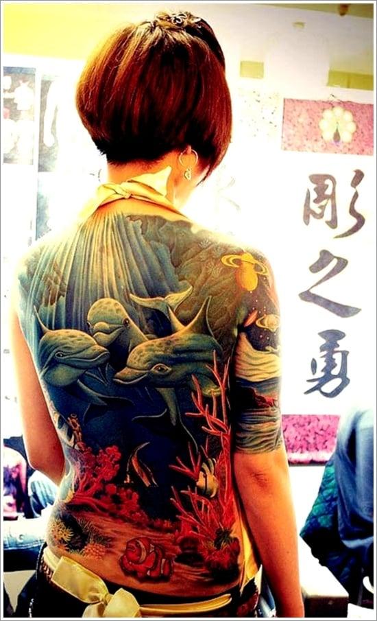 Dolphin tattoo designs (12)
