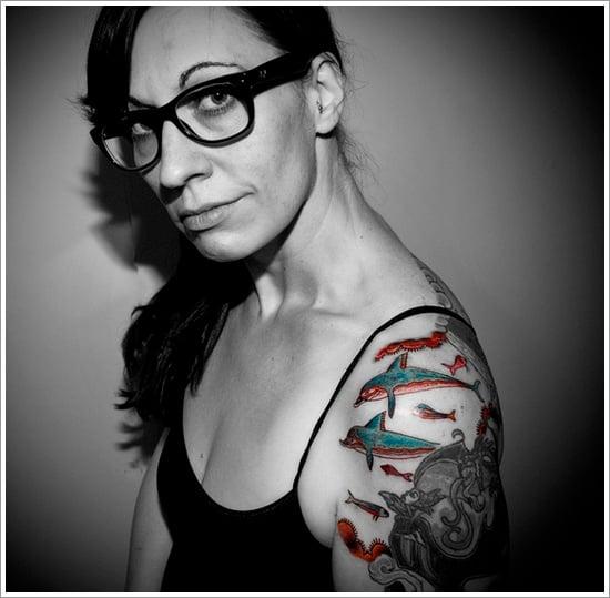 Dolphin tattoo designs (19)