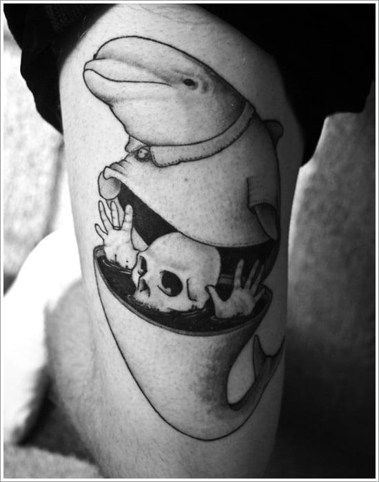 Dolphin tattoo designs (24)