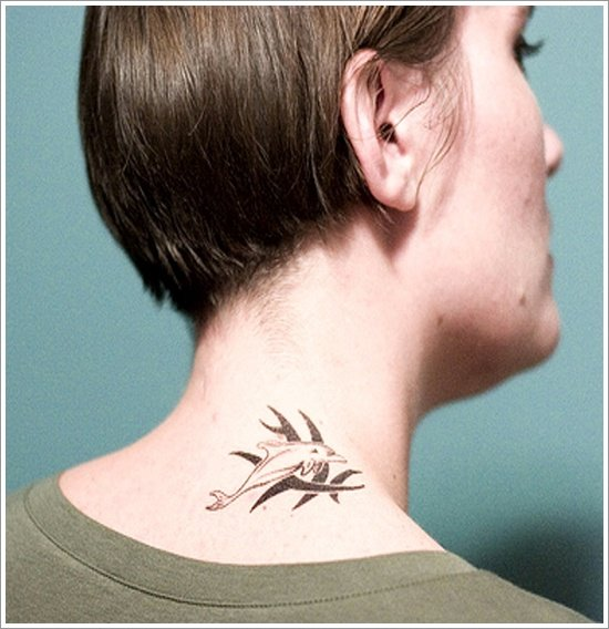 Dolphin tattoo designs (36)