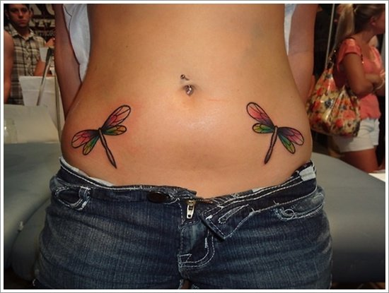 Dragonfly Tattoo (3)