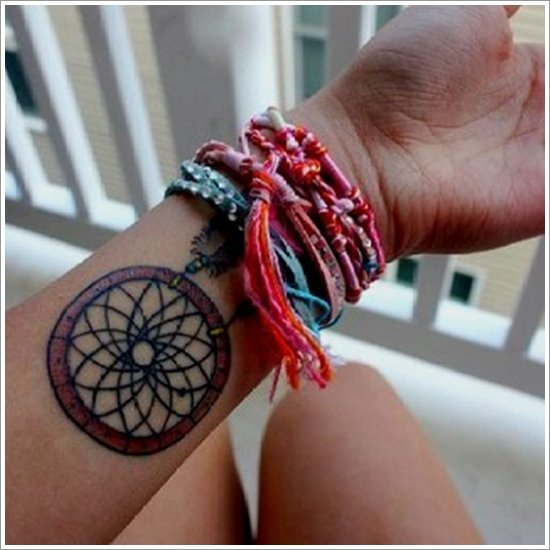Dreamcatcher Tattoo Designs (1)