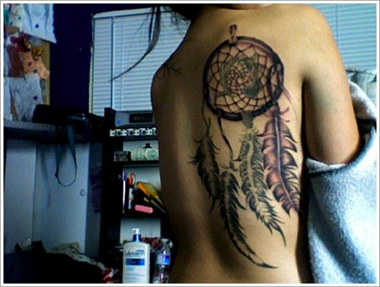 Dreamcatcher Tattoo Designs (15)
