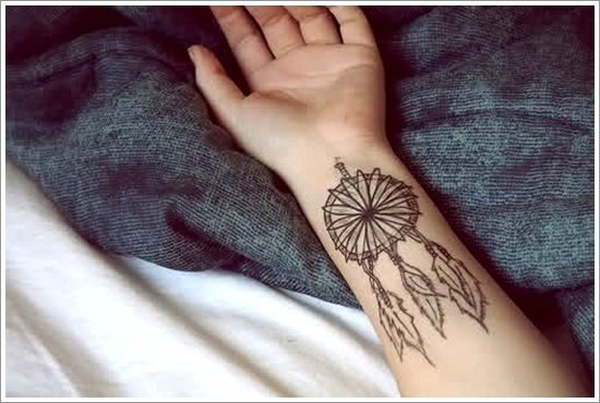 Dreamcatcher Tattoo Designs (17)
