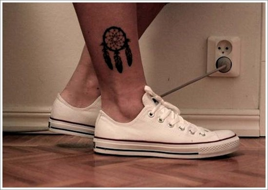Dreamcatcher Tattoo Designs (19)