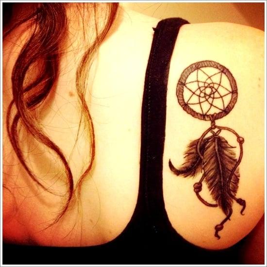 Dreamcatcher Tattoo Designs (2)