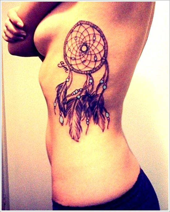Dreamcatcher Tattoo Designs (27)