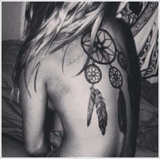 Dreamcatcher Tattoo Designs (3)